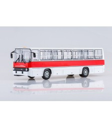 Ikarus-260 City Bus - red and white