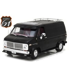 1976 Chevy G-Series Van - Black