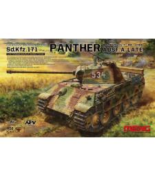 1:35 German Medium Tank Sonderkraftfahrzeug 171 Panther Ausf.A Late