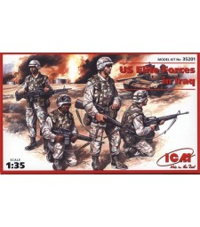 1:35 US Elite Forces in Iraq (4 figures - 4 soldiers)