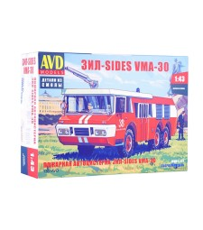 Fire Engine ZIL-SIDES VMA-30 - Die-cast Model Kit