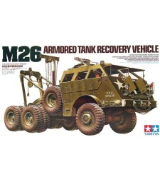 1:35 M26 Armored Tank Recovery Vehicle - 6 figures