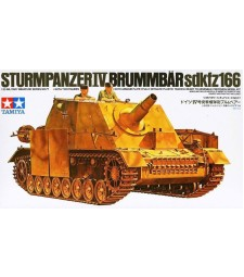 1:35 German Sturmpanzer IV - 2 figures