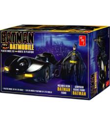 1:25 Batman 1989 Batmobile with resin Batman figure