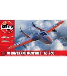 1:72 deHavilland Vampire T.11 / J- 28C