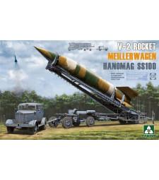 1:35 WWII German V-2 Rocket Transporter/Erector Meillerwagen+Hanomag SS100