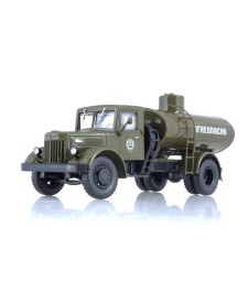 Tanker truck AC-8-200 (MAZ-200) - khaki
