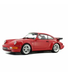 PORSCHE 964 TURBO 3,6 - ROUGE INDIEN - 1990