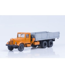 YAAZ-210 flatbed truck /orange-grey/