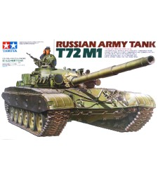 1:35 Russian Army Tank T72M1 - 1 figure