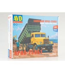 KRAZ-256B1 dump truck - Die-cast Model Kit