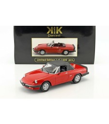Alfa Romeo Spider 3 series 2 1986 red Limited Edition 1500 pcs.