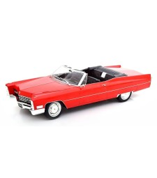 Cadillac DeVille Convertible 1967 Red - Limited Edition 750 pcs.