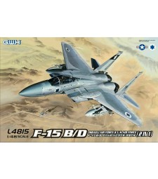 1:48 F-15B/D Israeli Air Force & U.S.Air Force 2 in 1
