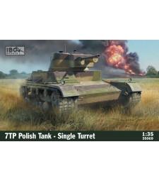 1:35 7TP Polish Tank-Single Turret