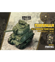 U.S. Medium Tank M4A1 Sherman - snap-fit