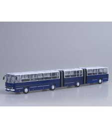 Ikarus-293 Double Articulated Bus - blue