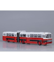 Ikarus-180 Articulated Bus Bulgaria - red-black