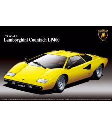 1:24 SUPER CAR: LAMBORGHINI COUNTACH LP400