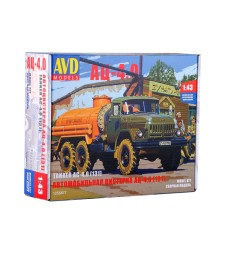 Tanker Truck AC-4,0 (ZIL-131) - Die-cast Model Kit