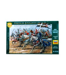 1:72 FRENCH KNIGHTS - 19 FIGURES