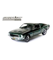 Bullitt & Steve McQueen (1968) - 1968 Ford Mustang GT Fastback - Highland Green (6-pack)