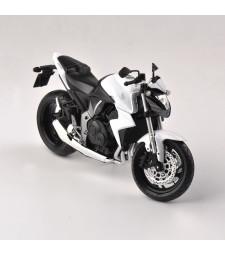1:12 HONDA CB1000R WHITE - DIECAST MOTORCYCLE