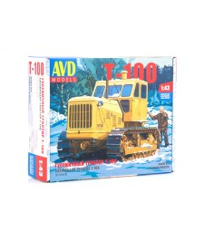 Caterpillar Tractor T-100 - Die-cast Model Kit