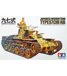 1:35 Japanese Tank Type 97 - 2 figures