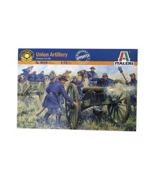 1:72 AMERICAN CIVIL WAR: UNION ARTILLERY - 21 figures