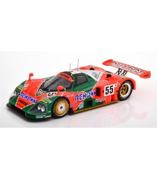 Le Mans Mazda 787 B Sieger 24h Le Mans Weidler/Herbert/Gachot 1991