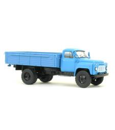 GAZ-53-12 flatbed truck /light blue/