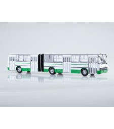 Ikarus-280.33 Articulated City Bus, Moscow - green-white