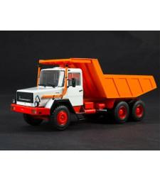 Magirus-Deutz 290D26K dump truck /white-orange/