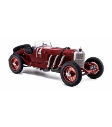 Mercedes-Benz SSK Argentinean autumn race 1931, #14 Zatuszek, red