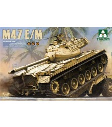 1:35 US Medium Tank M47 E:M 2 in 1