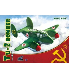 Tu-2 Bomber, snap-fit - MENG KIDS