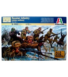 1:72 WWII-RUSSIAN INFANTRY (WINTER UNIFORMS) - 48 figures