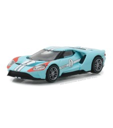 2017 Ford GT 1966 #1 Ford GT40 Mk II Tribute Solid Pack - Ford GT Racing Heritage Series 1