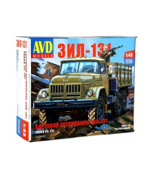 ZIL-131 flatbed - Die-cast Model Kit