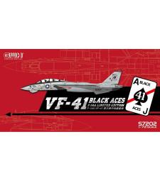 "1:72 US Navy F-14A VF-41 ""Black Aces"""