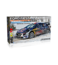 1:24 Ford Fiesta RS WRC 2017Rallye Monte-Carlo 2017