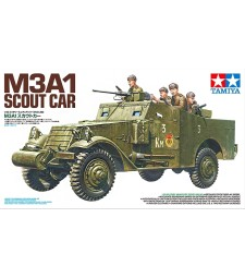 1:35 M3A1 Scout Car - 5 figures