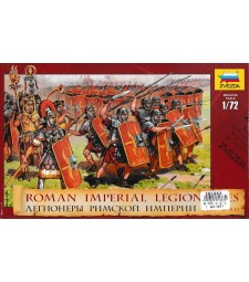 1:72 Roman Imperial Infantry (I.BC - II.AD) - 52 figures