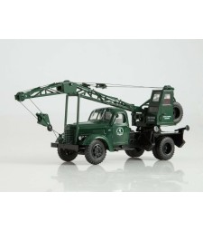 Truck-crane LAZ-690 (ZIS-150) (dark green)