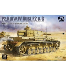 1:35 Pz.Kpfw.IV Ausf.F2 and G