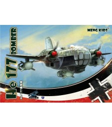 He 177 Bomber (Special Edition), snap-fit - MENG KIDS