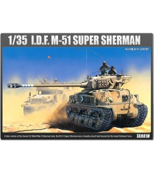 1:35 IDF SUPER SHERMAN