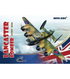 Lancaster Bomber, snap-fit - MENG KIDS