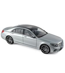 Mercedes-Benz S-Class AMG-Line 2018 - Iridium Silver
